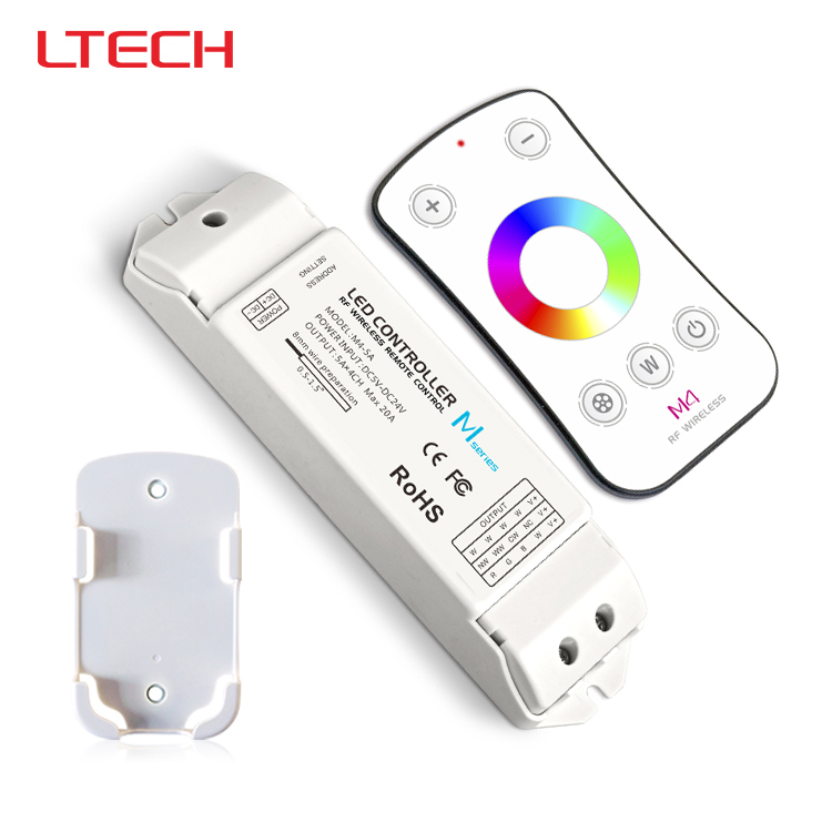 M4+M4-5A,M4 touch rf remote with M4-5A CV receiver led dimmer controller,DC5V-DC24V input,5A*4CH max 20A output m3 m4 5a m3 touch rf remote with m4 5a cv receiver led dimmer controller dc5v dc24v input 5a 4ch max 20a output