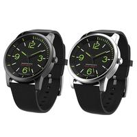 ALLOYSEED 30ATM Waterproof Quartz Wristwatch TPE Starp Sports Night Vision Bluetooth Smart Watch for Android IOS