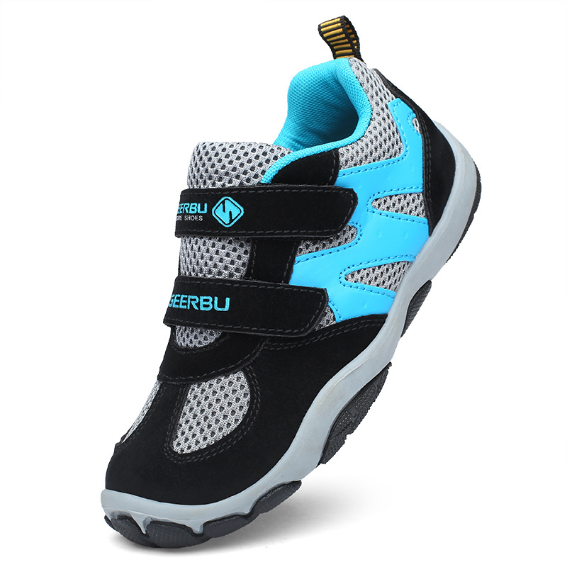 Spring Autumn Baby Girls Boys Sport Shoes Fashion Genuine Leather Children Size 28-37 Waterproof Kids Sneakers Breathable Shoes