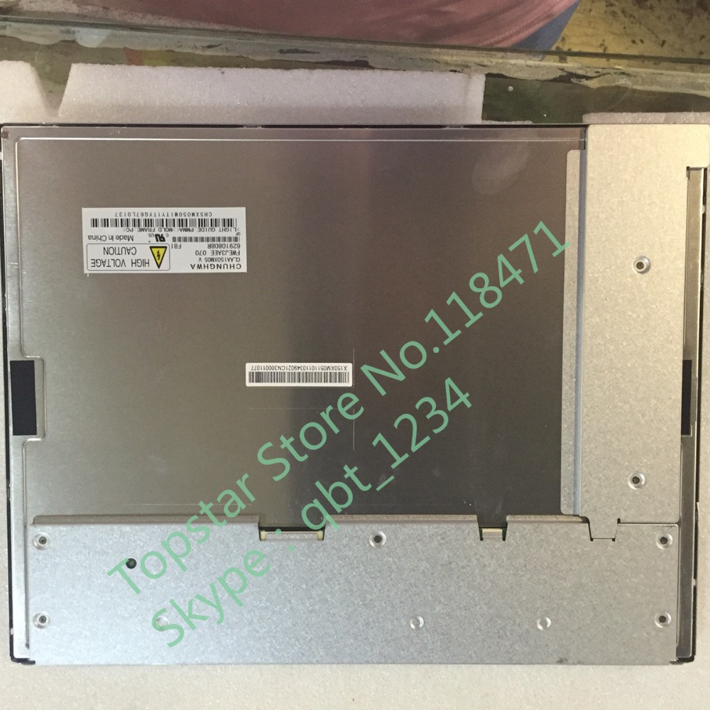 Original CPT 15.0 pouces CLAA150XM05 1024*768 LCD écran LCD écran LCD panneau