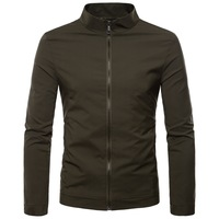 Men's Jackets 2018 Men's New Casual Jacket High Quality Spring Regular Slim Jacket Coat For Male S XXL