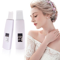 100 High Quality Facial Beauty Machine Ultrasonic Ion Skin Scrubber Microdermabrasion Facial Massager Spa
