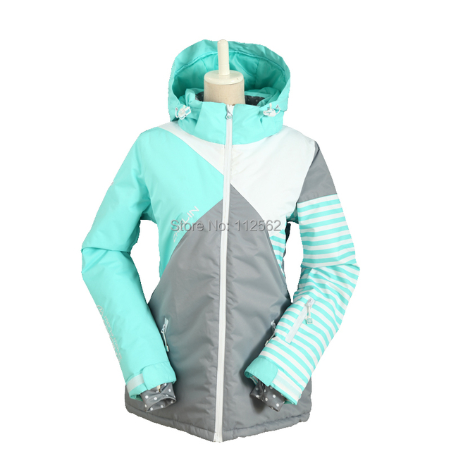 womens abrigos jacket suit winter suit Snowboard ski snow women qf865XxA