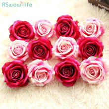 Fleece Rose Artificial Flower Wedding Room Decoration Birthday Gift Childrens Day Gifts Festival Party Supplies