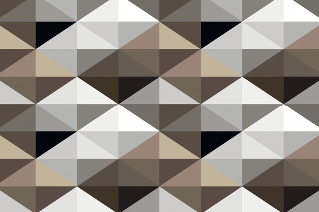 Aliexpress.com : Buy Mural Cool Brown Geometric Pattern
