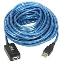 Répéteur de câble d'extension USB 10m actif-haute vitesse-compatible USB 2.0 et USB 1.1