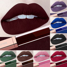 24 Color Make Up Liquid Lipsticks Waterproof Mate Red Lips M