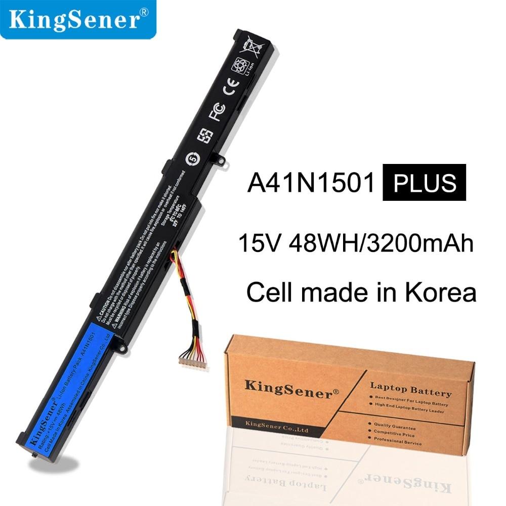 KingSener A41N1501 Аккумулятор для ноутбука ASUS N552 N552V N552VW N752 N752V N752VW GL752JW GL752 GL752VL GL752VW серия Korea Cells|Аккумуляторы для ноутбуков|   | АлиЭкспресс