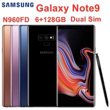 "Samsung Galaxy Note9 Note 9 N960FD Dual Sim 128G ROM 6G RAM Original LTE Mobile Phone Octa Core 6.4"" Dual 12MP Exynos NFC(China)"