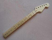 Top qualität 21/22 Bünde inlay dots Canadian maple E-gitarre Hals Gitarre Teile musikinstrumente kann angepasst werden