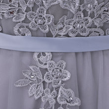 Long Bridesmaid Dresses Appliques Lace beading lace-up style Wedding Party Dress Under 50$