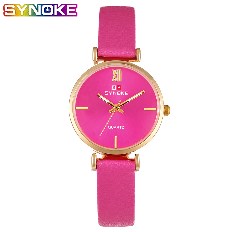 SYNOKE Womens Watches Fashion Leather Watch Women Watches Ladies Wrist Clock Ladies Wristwatch Fahion Gift for Girls RelogioSYNOKE Womens Watches Fashion Leather Watch Women Watches Ladies Wrist Clock Ladies Wristwatch Fahion Gift for Girls Relogio