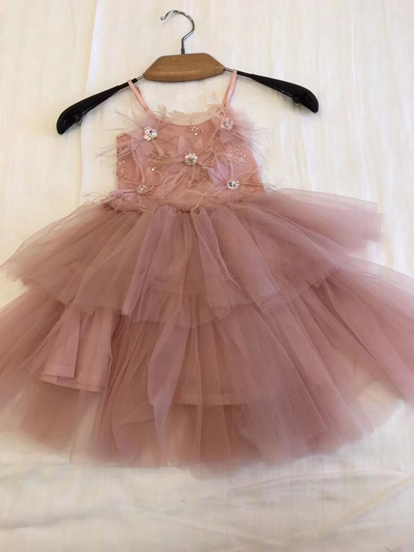 Summer Girls Dress Sleeveless Kids Baby Girl Tulle Party Princess Dress Lace Tutu Birthday Kids Dresses For Girls childrenSummer Girls Dress Sleeveless Kids Baby Girl Tulle Party Princess Dress Lace Tutu Birthday Kids Dresses For Girls children