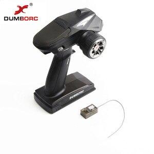 Передатчик DumboRC X4 2,4G 4CH с приемником X6F для JJRC Q65, Радиоуправляемый автомобиль, лодка, бак, модельные детали, 2019
