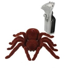 New Arrival 2CH RC Spider Remote Control Animal Infrared Realistic Grawling Action Funny Toys Christmas Kids
