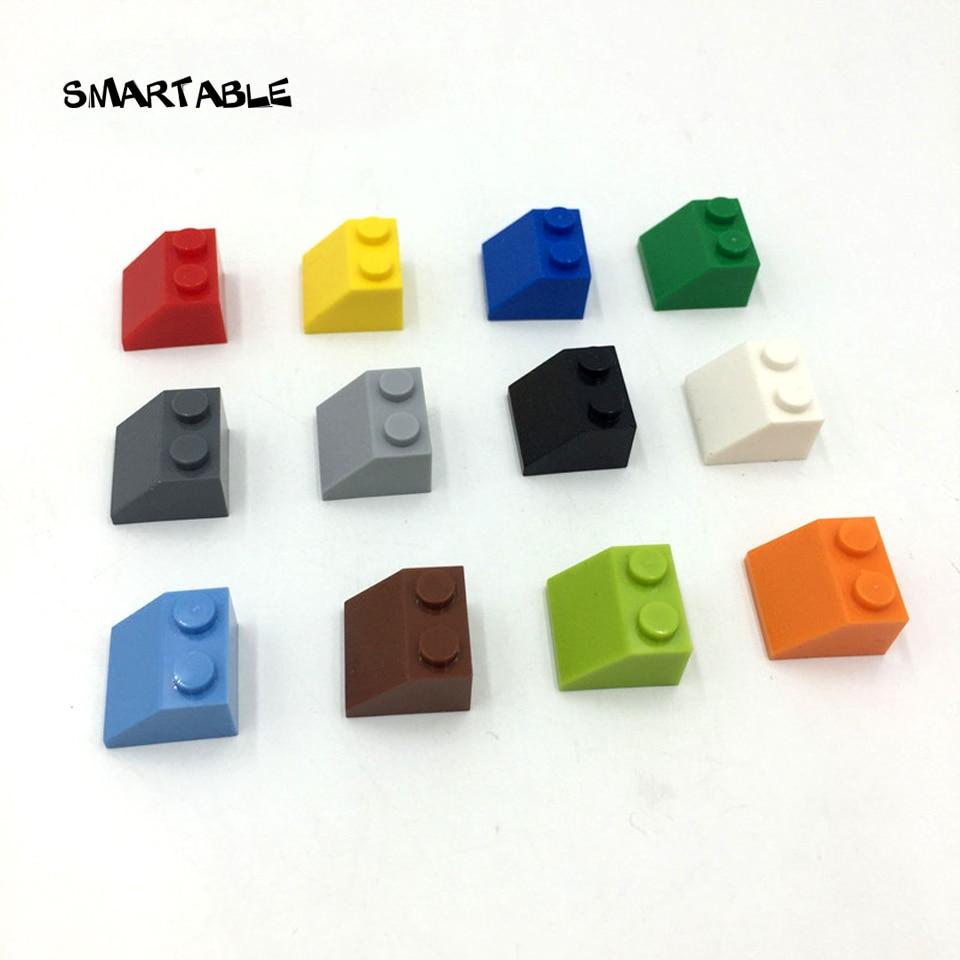 Умные кирпичи с откосом 45 2X2 строительные блоки запчасти обучающие игрушки для креативных совместимых Legoing 3039 MOC игрушки 90 шт./лот