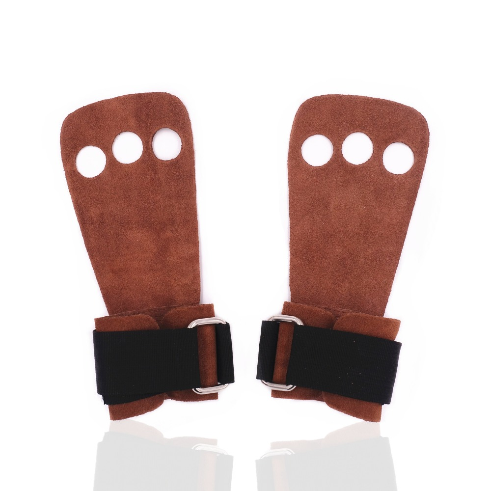 Weight Training Leather Palm Grips for Crossfit Small and Gymnastics