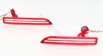 2x Ottica Led Posteriore Nebbia Riflettore Freno Luci Di Coda Per Nissan Murano 3 2015-2016