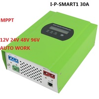 12V 24V 48V 96V Auto recognition 30A MPPT Solar Charge Controller Solar Tracker for home engergy system