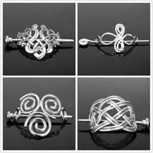 Hair-Clips Stick Slide-Accessories Crown Knots Viking Runes Celtics Fashion Women Dongsheng