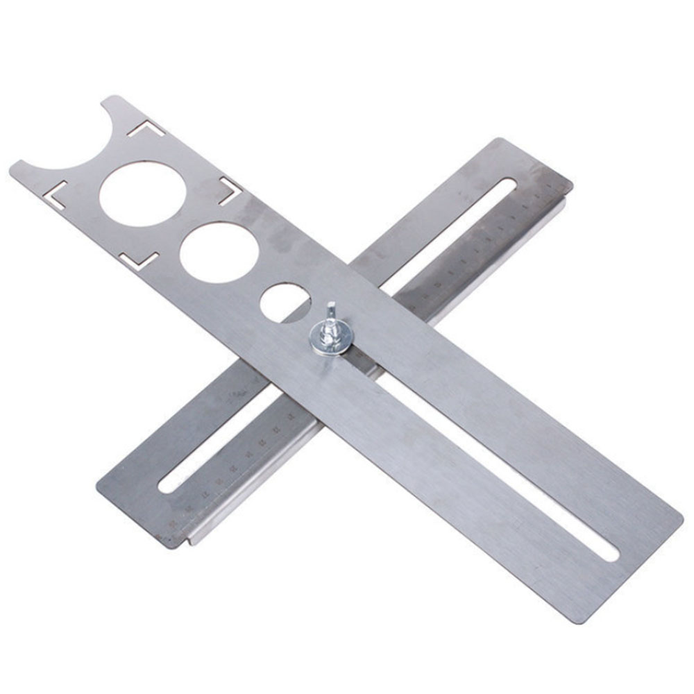 Stainless Steel Multi-Functional Tile Locator Puncher Tapper Adjustable Tile Fixing Decoration For Building Construction