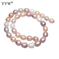 Cultured Potato Freshwater Pearl Beads Natural Mixed Colors 12 16mm Hole:Approx 0.8mm Sold Per Approx 16 Inch Strand