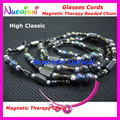 free shipping L812  high classic nice Magnetic Stone beaded eyeglasses sunglasses eyewear spectacle chain cords