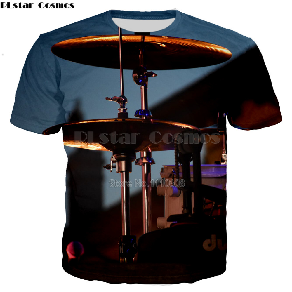 PLstar Cosmos New design DJ music 3d t-shirt Music Track Editor DJ Rock printed Men Women t shirts casual tops