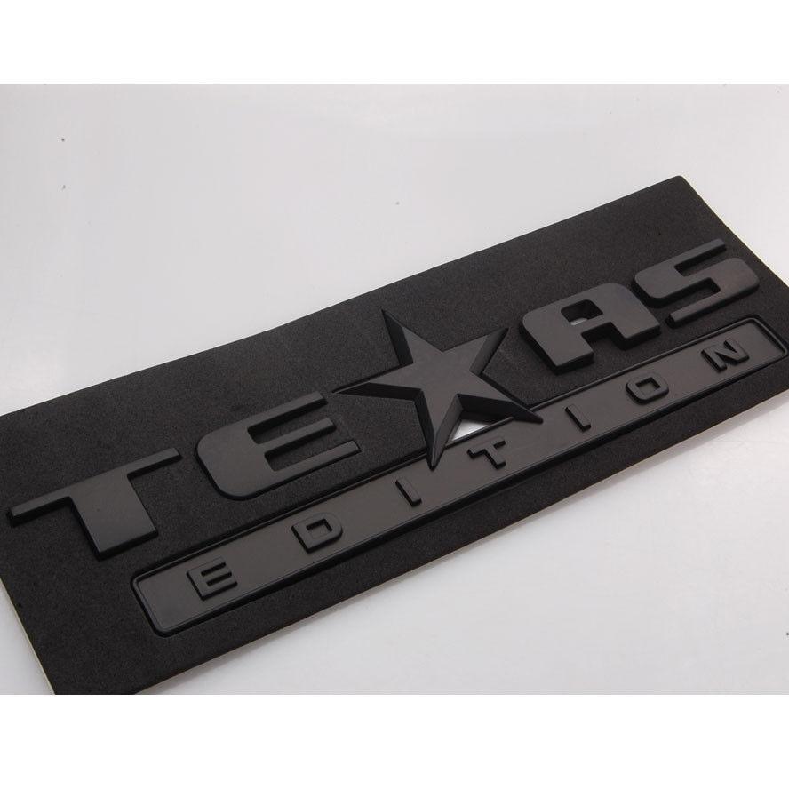 Авто стайлинг Техас издание герба знак наклейка ABS Пригонка для Шевроле Сильверадо Сьерра-Тахо пригородных аксессуары