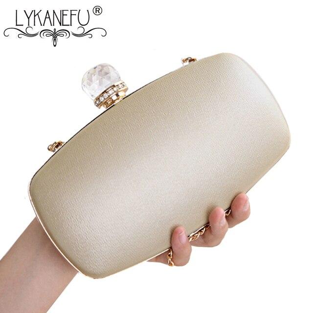 LYKANEFU luxe femmes sac de soirée boîte embrayage sac à main femmes sac jour embrayages dames mariage mariée sac à main pour téléphone livraison directe