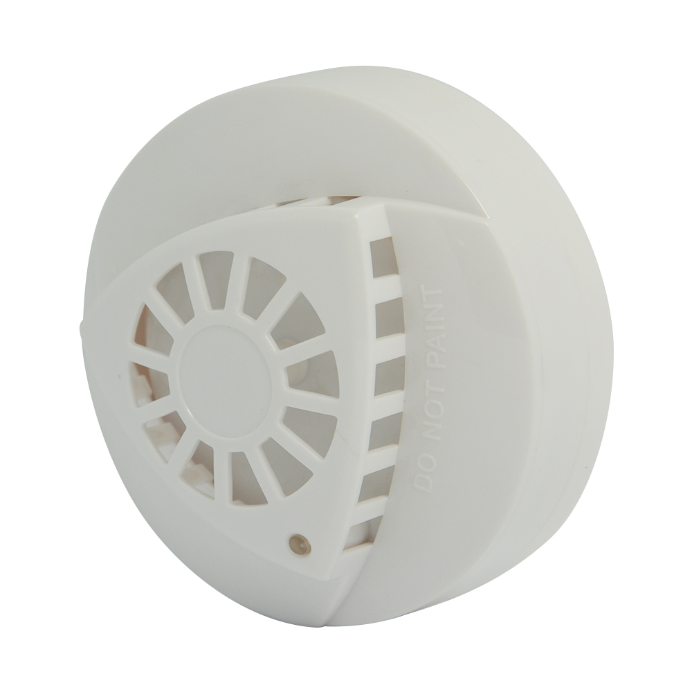 medium resolution of indoor ceiling smoke alarm and heat sensor over 57 degree home security wire smoke detector fire temperature alarm in heat detector from security