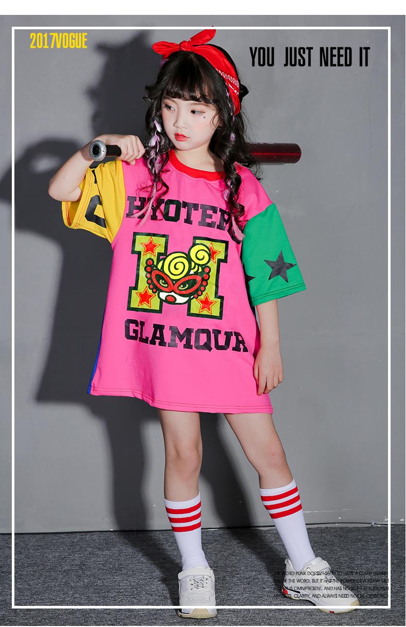 b5ad21d3b759 2019 Children'S Street Dance Costumes Girls Hip Hop Suits Children'S ...