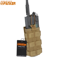 EXCELLENT ELITE SPANKER Tactical Walkie-talkie Bag PRC148/152 Radio Pockets Military Magazine Pouches Camping Hunting Nylon Bag