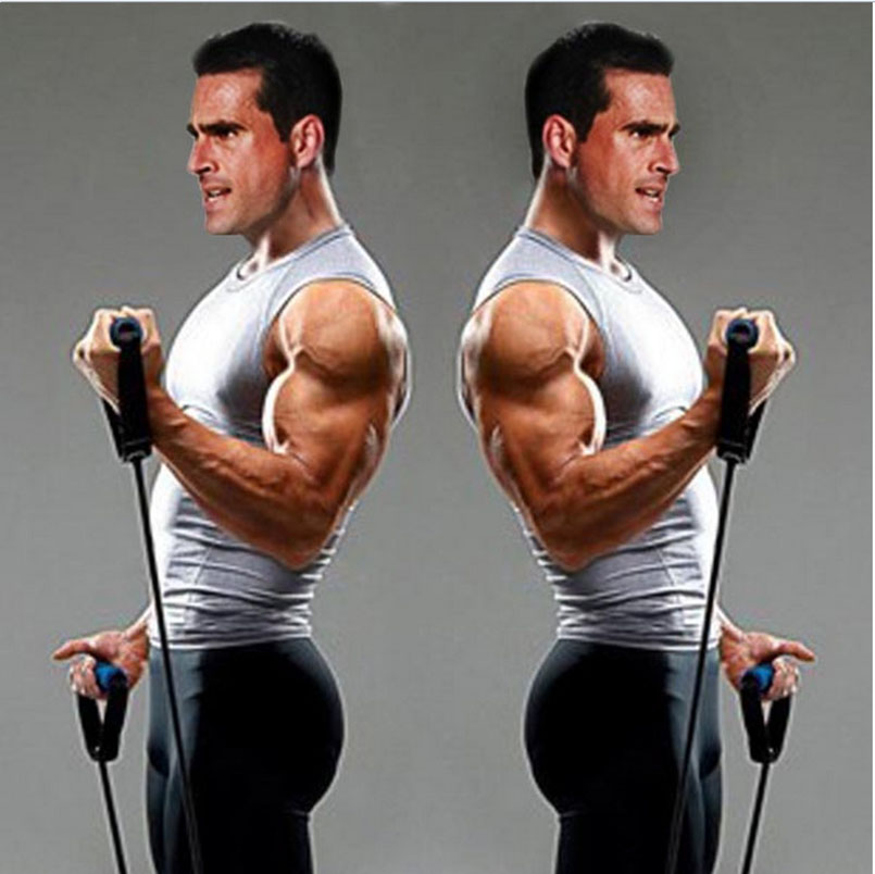 Chest Workouts With Resistance Bands Workout