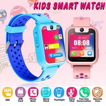 2363131b5125 En este momento los nuevos niños reloj teléfono niños LBS ...