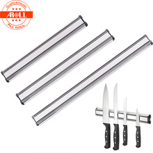 Stainless Steel Magnetic Wall Knife Holder Rest Stand for Knives Bar Storage Block Save Space Magnet Kitchen Tools Knife Holder