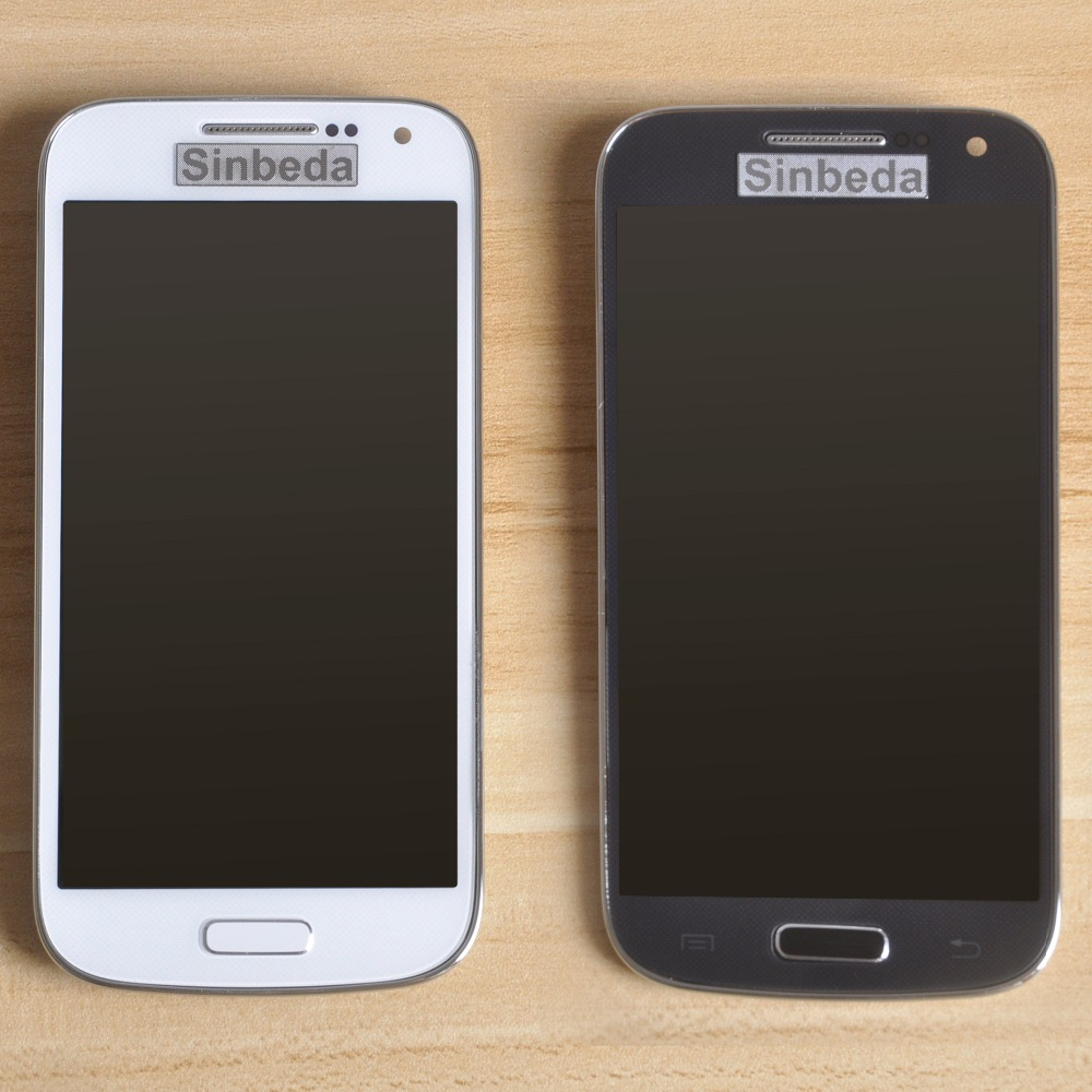 Sinbeda AMOLED ЖК-экран мобильного телефона дисплей для Samsung Galaxy S4 Mini i9190 i9192 i9195 ЖК дисплей + сенсорный экран планшета Ассамблеи рамки
