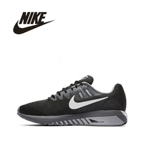 NIKE Original  New Arrival AIR ZOOM Mens&Women Running Shoes Breathable Support Sports Shoes For Men And Women#849576 849577