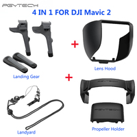 PGYTECH DJI Mavic 2 Pro Zoom Landing Gear Riser Propellers Holder Remote Thumb Stick Guard Protector Cover Drone Accessories