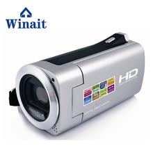 Free shipping 720 HD LED Light Digital Video Camera 2.7inch TFT-LCD 4X Digital Zoom Camcorder