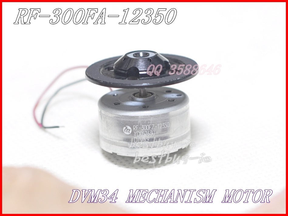 RF-300F-12350 DV 5.9 12350 5.9V DVD-mechanizmus DV34 motor - Otthoni audió és videó