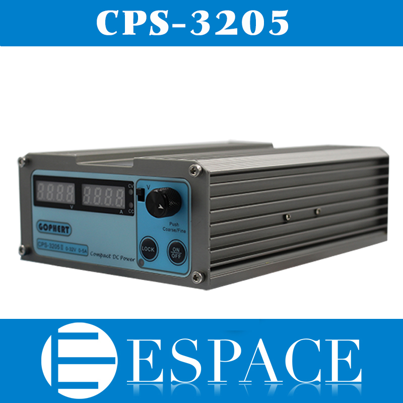 New CPS 3205 160W 110Vac 220Vac 0 32V 0 5A Compact Digital Adjustable DC Power Supply