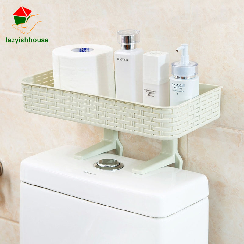 Rak Dinding Kamar Mandi New Multifunctional Shelf Free Punching Bathroom Shelf