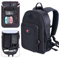 Smatree Путешествия Рюкзак Для nintendo переключатель Fit Pro контроллер, сумка для переноски Тетрадь/MacBook Pro 13 дюймов/MacBook Air 13 дюймов