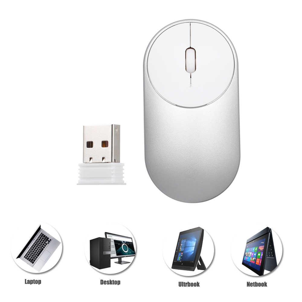 2.4G Optik Wireless Keyboard Mouse USB Receiver Kit Mini Keyboard Mouse Combo Set untuk Notebook Laptop Desktop Mac pc