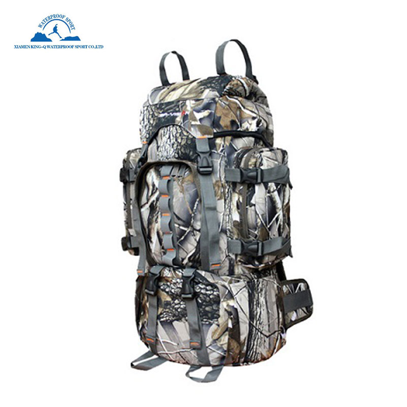 Large Waterproof Tactical Backpack Expandable Military Outdoor Sports Strap Shoulders Bag for Hiking Trekking Camping Hunting