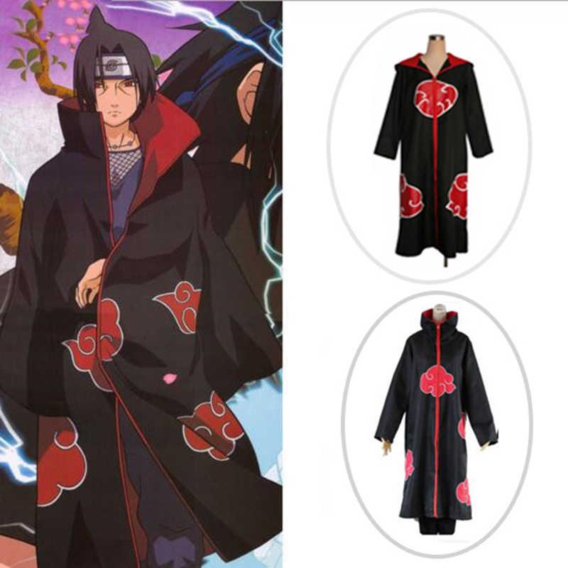 Couleurs variées meilleure sélection sur les images de pieds de Anime Naruto Cosplay Costume Akatsuki Cloak Hoodie Naruto ...