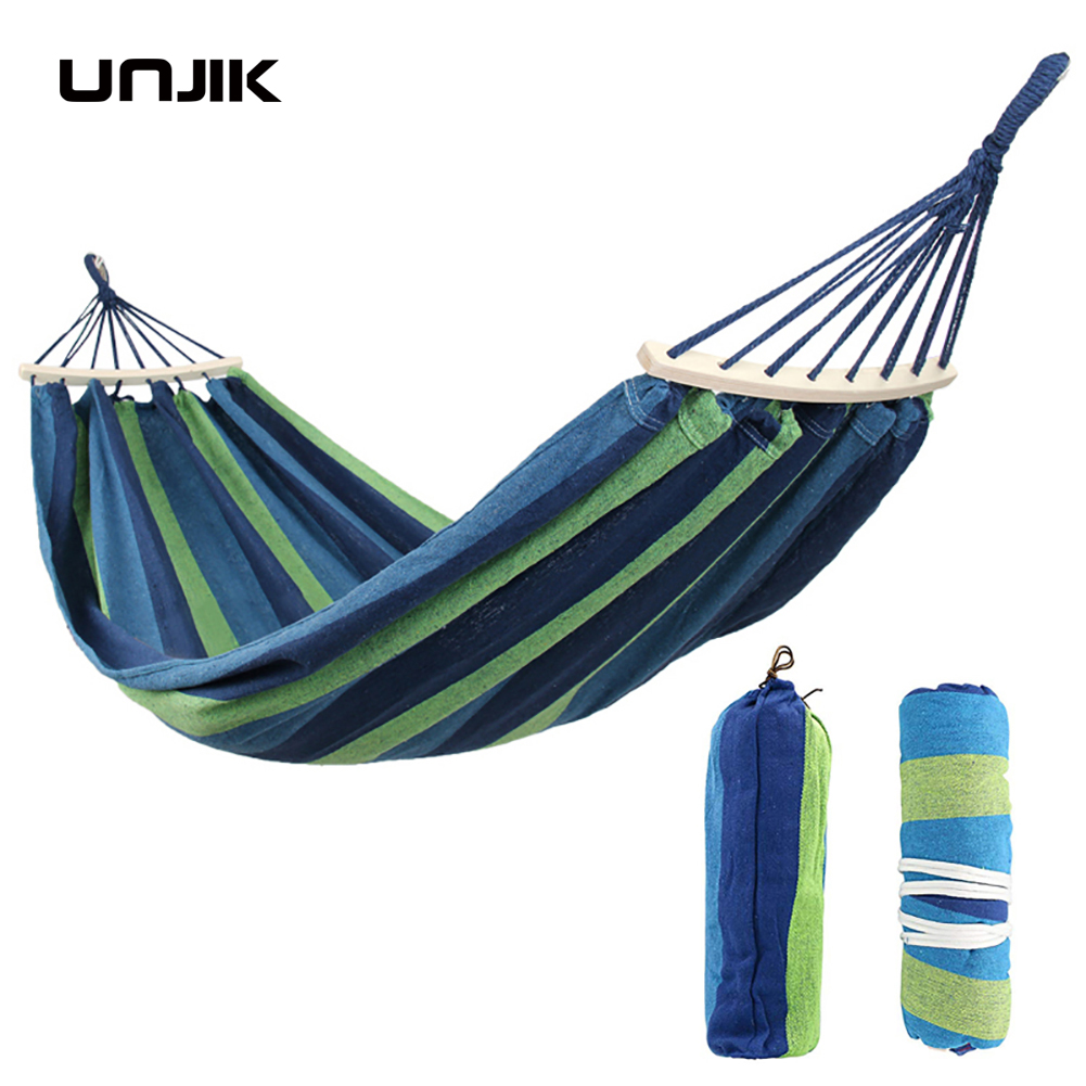 280*150cm 2 People Portable Outdoor Canvas Camping Hammock Bend Wood Stick steady Hamak Garden Swing Hanging Chair Hangmat280*150cm 2 People Portable Outdoor Canvas Camping Hammock Bend Wood Stick steady Hamak Garden Swing Hanging Chair Hangmat