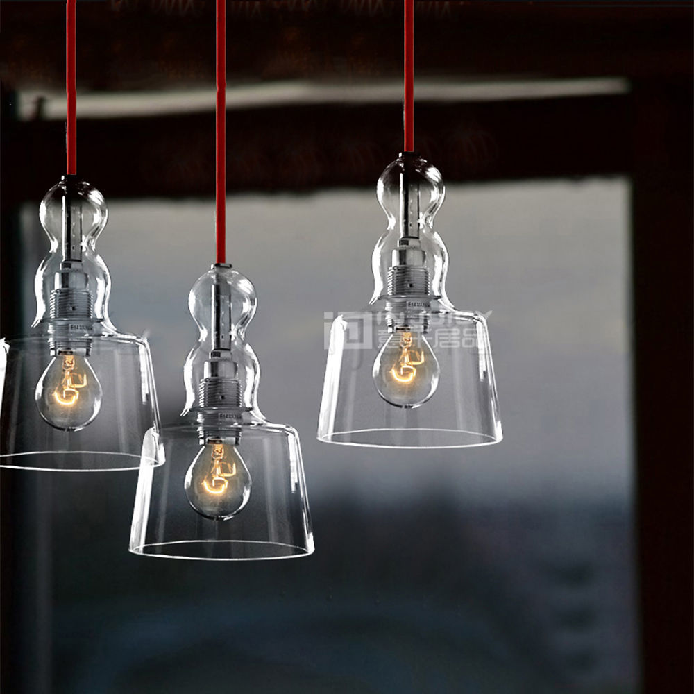 American Glass Perfume LED Lighting Pendant Lamp Droplight Loft Corridor Cafe Bar Restaurant Chandelier Hall Decor loft vintage american stretch pendant light fixture cafe bar droplight aisle hall ceiling lamp bedroom dining balcony lighting