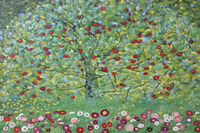 Modern Landscape Oil Painting The Apple Tree By Gustav Klimt Handmade Paintings Replicas On Canvas Wall